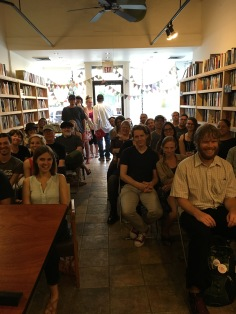 We're so grateful to everyone who came out to hear our readers and to East End Book Exchange for being amazing hosts