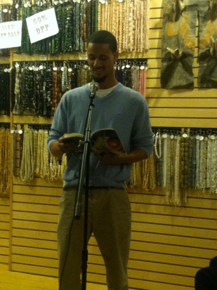 Malcolm Friend reads his poetry that was featured in Issue 2.
