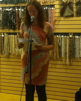 Adrienne Jouver reads her flash fiction that was featured in Issue 2.