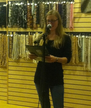 Ziggy Edwards reads her poetry that was featured in Issue 2.