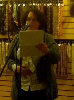 Jen Ashburn reads her poetry that was featured in Issue 2.