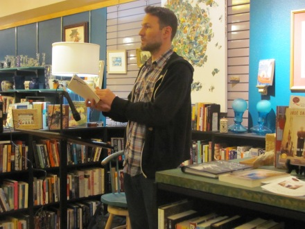 Joshua Marie Wilkinson reading his poetry at Classic Lines Bookstore. Read three of his poems in Issue 6.