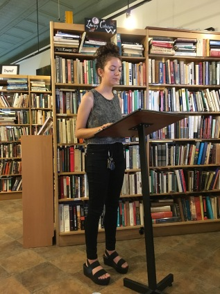 Shannon Sankey, Issue 9 contributor, reads at East End Book Exchange