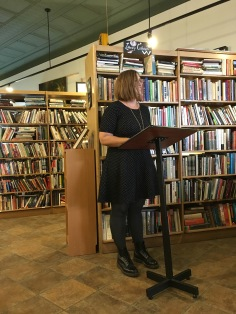 Sharla Yates reads her fiction that was featured in Issue 9