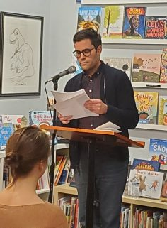 Joshua Zelesnick, Issue 22 contributor, reads at White Whale Bookstore.