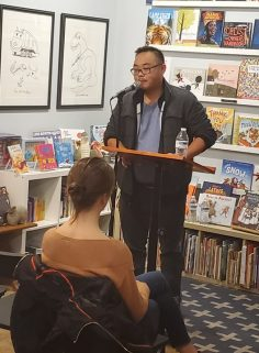 Stephen Lin, Issue 22 contributor, reads at White Whale Bookstore.